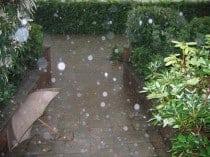 Überschwemmung durch Starkregen