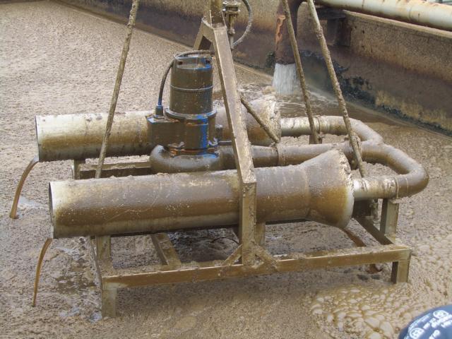 Kläranlage Ölraffinerie Sauerstoff