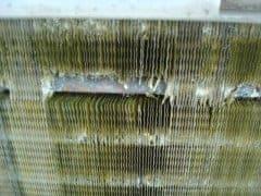 Schaden am Kühlturm einer Kälteanlage
