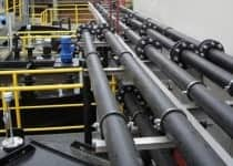 Schwachstelle im Rohrleitungssystem für Kühlwasser
