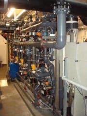 Zu geringer Durchfluss bei der Ultrafiltration von Badewasser.